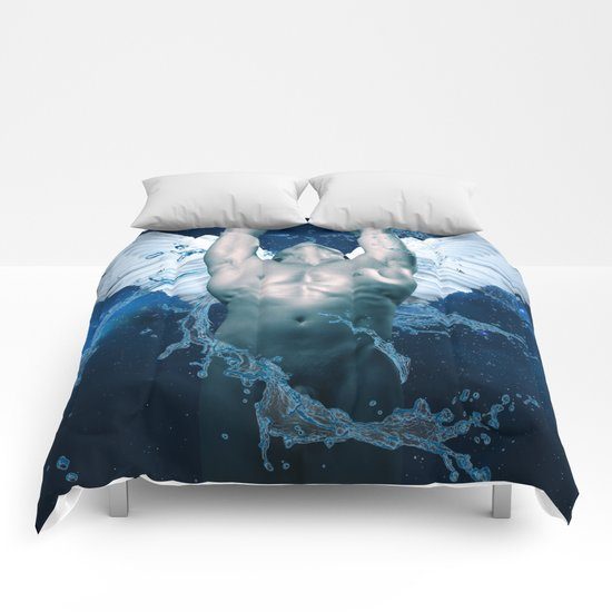 blue angel  Comforters