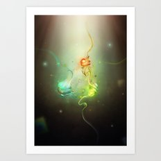 DNA Mutations Art Print