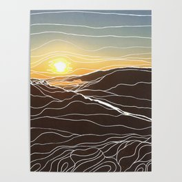 Sunrise Goat Rock 1 Poster