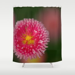 Flowers Izby Garden 8 Shower Curtain