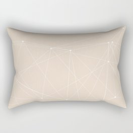LIGHT LINES ENSEMBLE III-A Rectangular Pillow