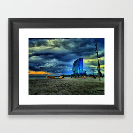 From the Mars Hotel Framed Art Print