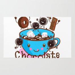 Hot Chocolate fun! Rug