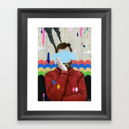 SAD Framed Art Print
