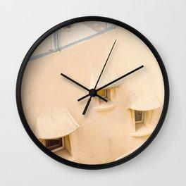 Little Windows Wall Clock