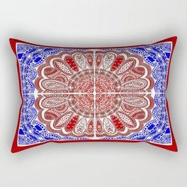 RWB Bandanna Rectangular Pillow
