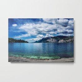 Garda Lake - Landscape Metal Print