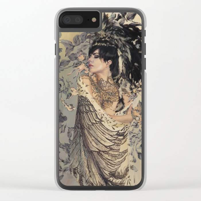 Edelweiss Clear iPhone Case