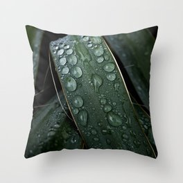 Bejeweled Blades Throw Pillow