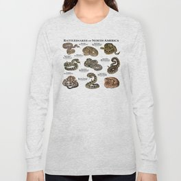 Rattlesnakes of North America Long Sleeve T-shirt