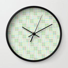 Dreamscape (Interpretive Weaving) Wall Clock