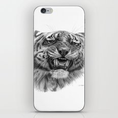 Tiger roar  G082 iPhone & iPod Skin