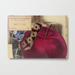 Artist Trading Card #06 - Pomological Investigations Metal Print