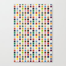 Ghosts Spots Canvas Print
