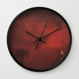 Kilauea 2018 Wall Clock