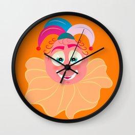 Lolo AlfsToys head Wall Clock