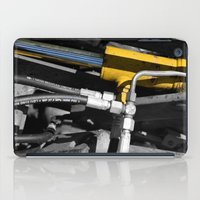 muscle iPad Cases featuring Hydraulic Muscle by Digitalshot