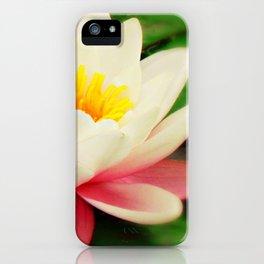 White water flower iPhone Case
