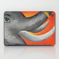 ganesh iPad Cases featuring Ganesh by Erin Schamberger