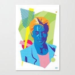 SONNY :: Memphis Design :: Miami Vice Series Canvas Print
