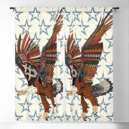 USA eagle pearl Blackout Curtain
