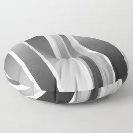 Color Black gray Floor Pillow
