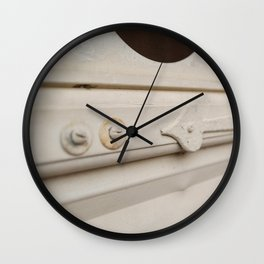 Vintage Screen Door Wall Clock