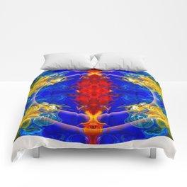 Dimensional Eyesight Abstract Living Artwork Comforters