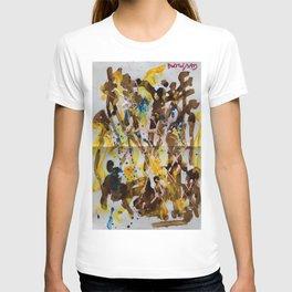 Abstract casting motive I T-shirt