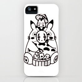 Your friendly neighbor and No face iPhone Case