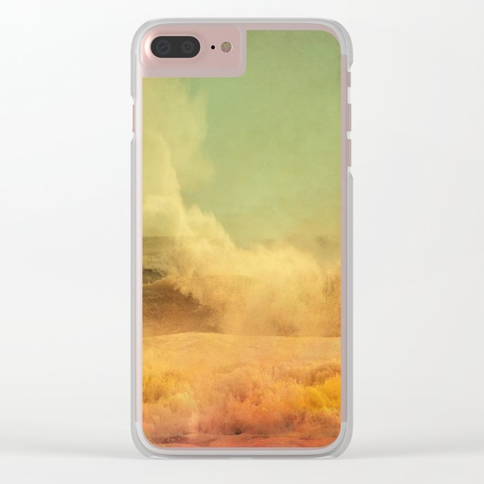 I dreamed a storm of colors Clear iPhone Case