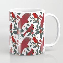 cardinalis and Holly Coffee Mug