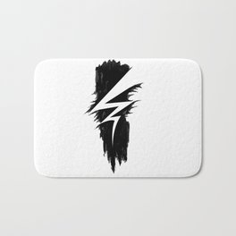 Lightning Arts Logo Bath Mat