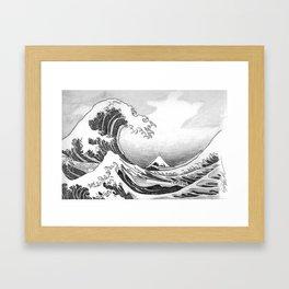 Great Wave Off Kanagawa Framed Art Print