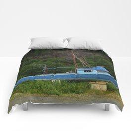 Stranded in Seldovia Comforters