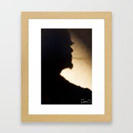 Smoking is bad ! Framed Art Print