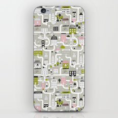City map iPhone Skin