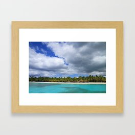 Island of Dreams Framed Art Print