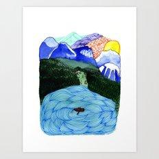 Landscapes / Nr. 1 Art Print