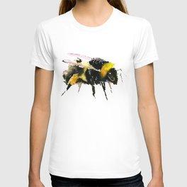 Bumblebee, bee art, bee design, minimalist bee honey T-shirt