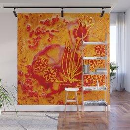 Happy flower Wall Mural