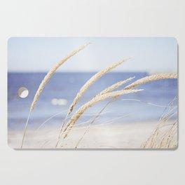 Beach Grass Blue Photography, Coastal Ocean Landscape, Sea Seashore Seascape Shore Cutting Board