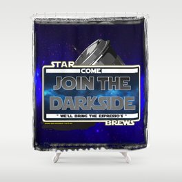 Come to the Darkside, The Coffee Wars, Jeronimo Rubio, Photography, Art 2016 Shower Curtain