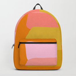Abstract Sunset Colors Backpack