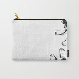 Feet on the sand Carry-All Pouch