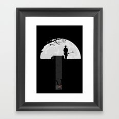 Dumped Framed Art Print