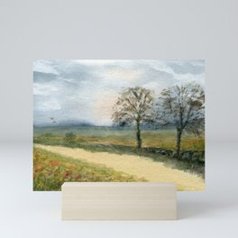 Autumn Path Mini Art Print