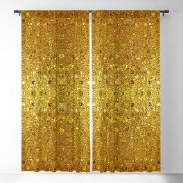 Deep gold glass mosaic Blackout Curtain