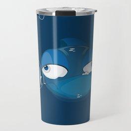 Character collection saltwater fish puff Travel Mug