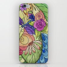 Stained Glass Garden Too iPhone & iPod Skin